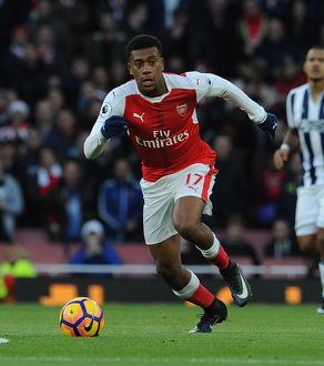 season 2016 17/arsenal v west bromwich albion 2016 17/alex iwobi arsenal arsenal 10 west bromwich albion