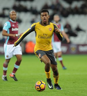 season 2016 17/west ham united v arsenal 2016 17/alex iwobi arsenal west ham united 15 arsenal