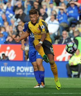 alex oxlade chamberlain arsenal leicester city 0