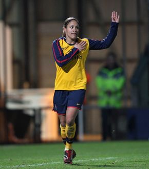 alex scott celebrates scoring arsenals 4th goal