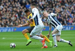 alexis sanchez arsenal jake livermore and james mcclean