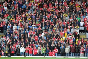 previous season matches/season 2011 12 blackburn rovers v arsenal 2011 12/arsenal away fans blackburn rovers 43 arsenal