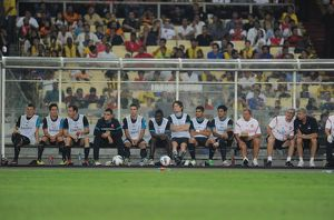 previous season matches/season 2011 12 malaysia xi v arsenal/arsenal bench malaysia xi 04 arsenal bukit jalil stadium