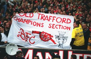 previous season matches/matches 2005 06 man utd v arsenal/arsenal fans match manchester united 01 arsenal