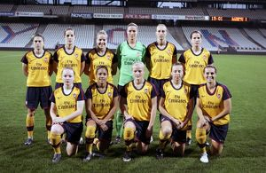 arsenal women/olympic lyon v arsenal ladies 2008 9/arsenal ladies