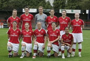 arsenal women/arsenal ladies v poal thessaloniki 2009 10/arsenal ladies