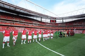 previous season matches/matches 2006 07 arsenal v ajax dennis bergkamp testimonial/arsenal legends ajax legends line match
