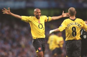 (Arsenal). Manchester City 1:3 Arsenal. FA Premiership