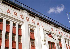 Arsenal Stadium. Highbury, Islington, London, 25/6/04