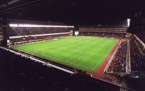 Arsenal Stadium, photographed from the North Bank stand