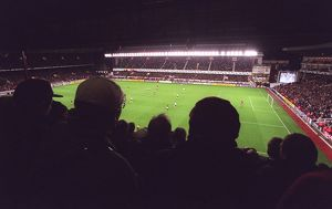 Arsenal Stadium, photographed from the West stand. Arsenal 3:0 Sparta Prague
