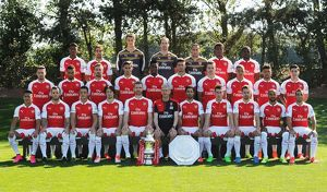 team/arsenal 1st team photocall 2015 16/arsenal training ground september 10 2015 london