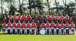 Arsenal Training Ground on September 10, 2015 in London, England
