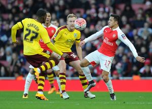 season 2015 16/arsenal v burnley fa cup 4th rd 2016/arsenal v burnley emirates fa cup fourth round