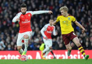 arsenal v burnley the emirates fa cup fourth