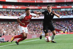 season 2017 18/arsenal v seville emirates cup 2017 18/arsenal v sevilla fc emirates cup