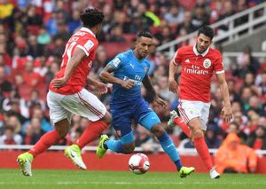 season 2017 18/arsenal v benfica emirates cup 2017 18/arsenal v sl benfica emirates cup