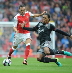 season 2016 17/arsenal v southampton 2016 17/arsenal v southampton premier league