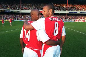 legends/ex players wright ian/arsenal xi v england xi martin keowns