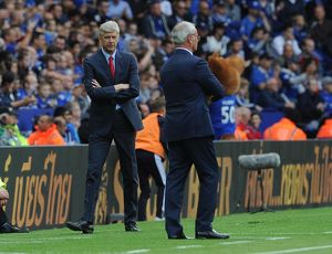 arsene wenger the arsenal manager leicester city 0