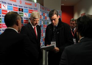 arsene wenger the arsenal manager pre match