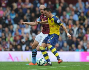 season 2014 15/aston villa v arsenal 2014 15/aston villa v arsenal premier league