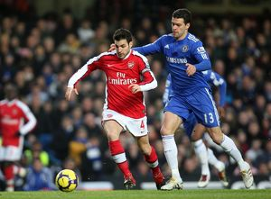 previous season matches/matches 2009 10 chelsea v arsenal 2009 2010/cesc fabregas arsenal michael ballack chelsea