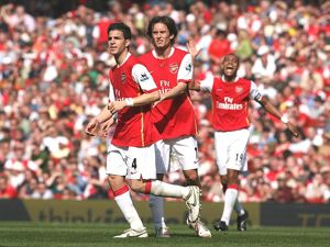 Cesc Fabregas and Tomas Rosicky (Arsenal)