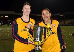 ciara grant and alex scott arsenal with