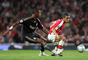 previous season matches/matches 2009 10 arsenal v liverpool carling cup 2009 10/craig eastmond arsenal damien plessis