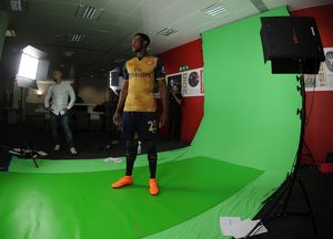 Danny Welbeck (Arsenal). Arsenal 1st Team Photocall and Training Session. Emirates