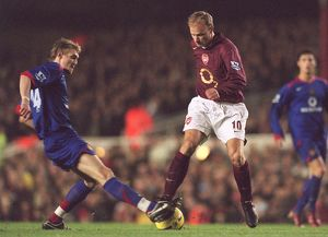legends/ex players bergkamp dennis/dennis bergkamp arsenal darren fletcher