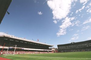 The East and South Stands. Arsenal 2:0 Newcastle United. FA Premier League
