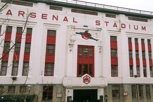 The East Stand. Arsenal v West Bromwich Albion. FA Premiership