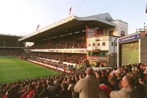 The East Stand from the South Stand. Arsenal 7:0 Everton. Barclays Premiership