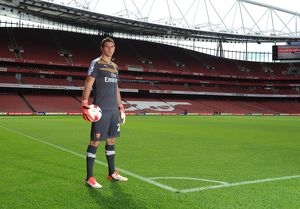 Emi Martinez (Arsenal). Arsenal 1st Team Photcall and Training Session. Emirates Stadium