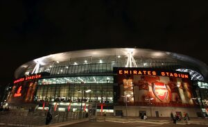 emirates stadium before the match