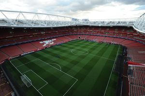 season 2014 15/arsenal v monaco 2104 15/emirates stadium pre match arsenal 13 monaco