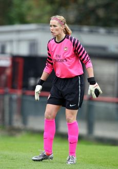 arsenal women/arsenal ladies v zfk masinac 2010 11/emma byrne arsenal arsenal ladies 90 zfk masinac