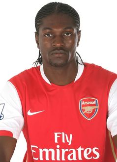 previous season players/1st team player images 2007 8/emmanuel adebayor arsenal