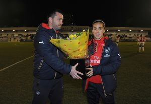 arsenal women/arsenal ladies v reading fc women 23rd march 2016/fara williams arsenal ladies pedro martinez