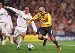 Freddie Ljungberg (Arsenal) Alvaro Mejia (Real). Real Madrid 0:1 Arsenal