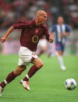 Freddie Ljungberg (Arsenal). Arsenal 2:1 Porto. The Amsterdam Tournament