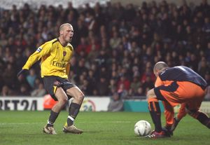 Freddie Ljungberg (Arsenal) Brad Friedel (Blackburn)
