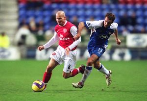 Freddie Ljungberg (Arsenal) David Wright (Wigan)