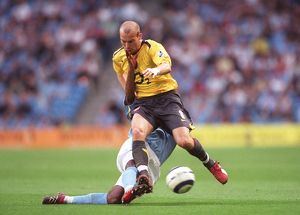Freddie Ljungberg (Arsenal) Micah Richards (Man City)