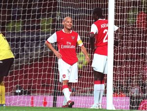 Freddie Ljungberg and Emmanuel Adebayor (Arsenal)