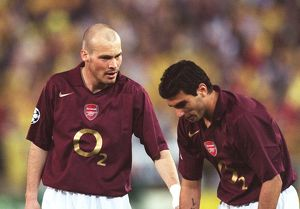 Freddie Ljungberg and Jose Reyes (Arsenal). Villarreal v Arsenal