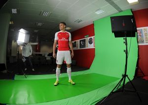 Gabriel (Arsenal). Arsenal 1st Team Photcall and Training Session. Emirates Stadium