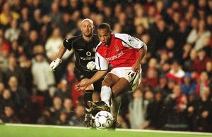 legends/ex players henry thierry/henry 2nd goal 4 011125afc